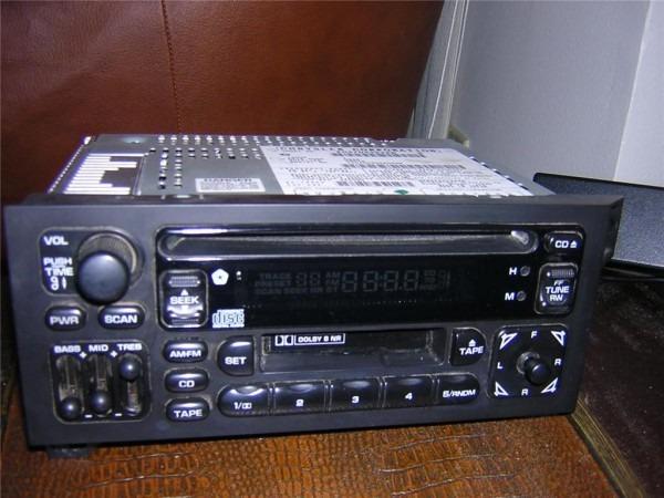 96 97 98 Jeep Grand Cherokee Radio Cassette Cd Player On Popscreen