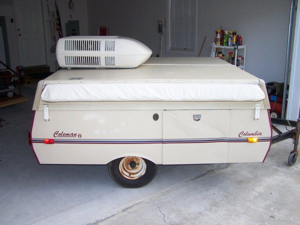 1988 Coleman Popup With A C $950