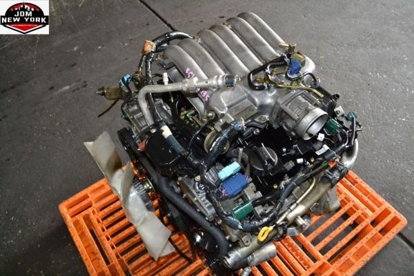 01 02 03 04 Infiniti Qx4 3 5l V6 Engine Jdm Vq35de Vq35