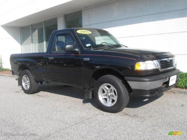 2000 Black Mazda B