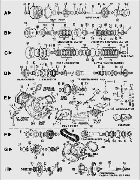 42le A606 Parts Diagram