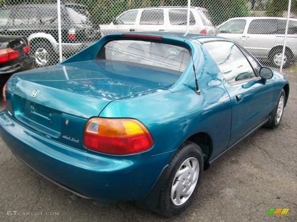1995 Paradise Blue Green Pearl Honda Del Sol S  18106745 Photo  5