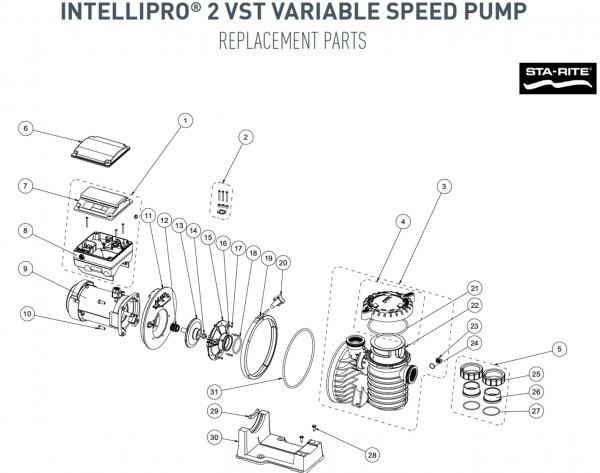 Sta Rite Pump Parts Diagram