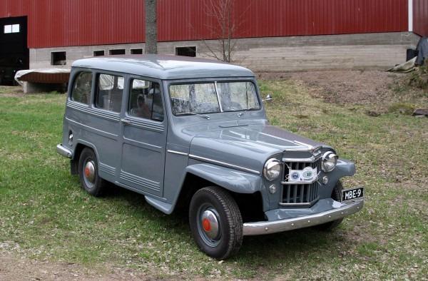 1955 Willys Station Wagon
