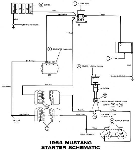 Ford Starter Motor Wiring
