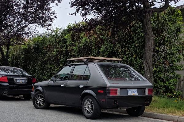 Old Parked Cars Vancouver  1985 Plymouth Horizon