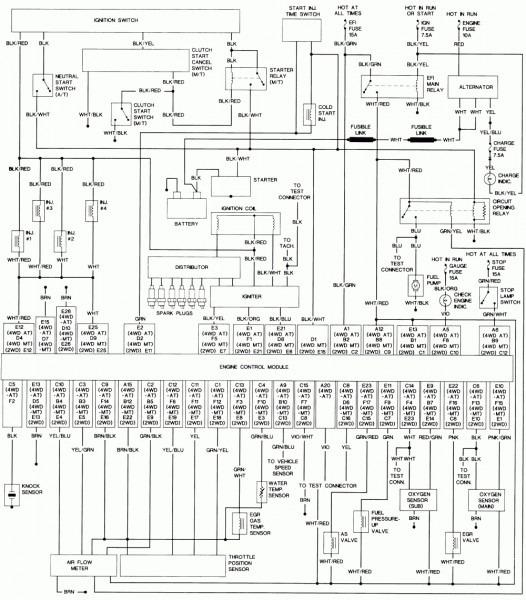 1992 Toyota Camry Radio Wiring Diagram