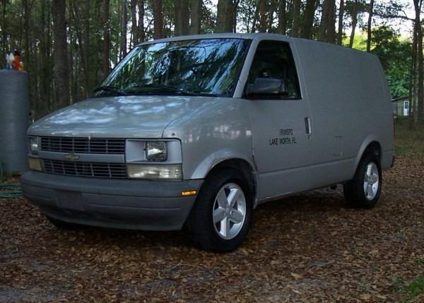 Chevrolet Astro Cargo Questions