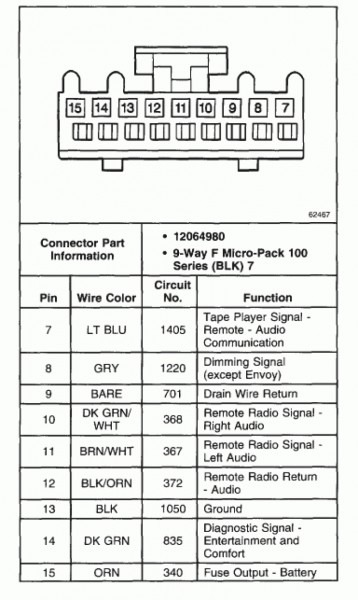 2000 S10 Stereo Wiring Diagram Schematic