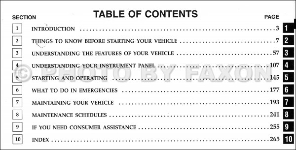 Chrysler Pt Cruiser Owners Manual 2008