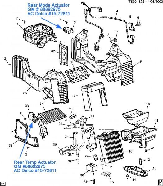 2004 Envoy Motor Diagram