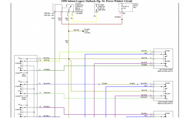 Subaru Outback Wiring Diagram