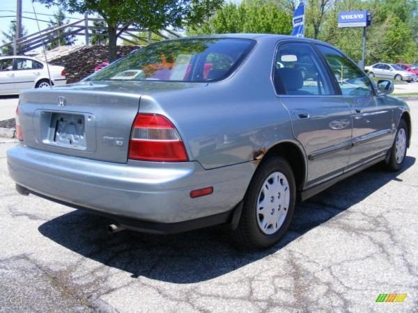 1995 Sage Green Metallic Honda Accord Lx Sedan  29762073 Photo  5