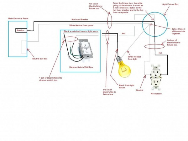Wiring A 2 Gang Schematic Diagram