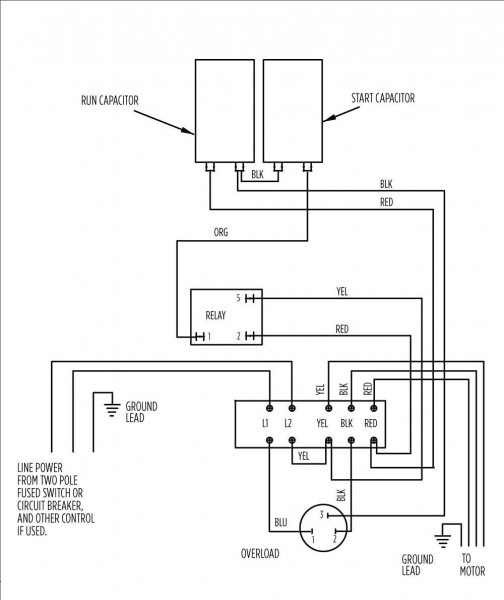 2 Wire Submersible Well Pump Wiring Diagram In Shihlin Showy And