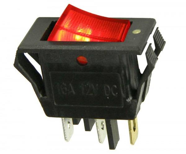 Rocker Switch 12v Lighted Spst