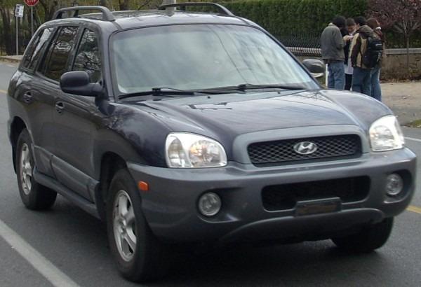 2001 Hyundai Santa Fe Gl Specs And Vin Numbers