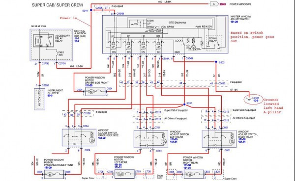 2001 Ford Truck Wiring Diagrams