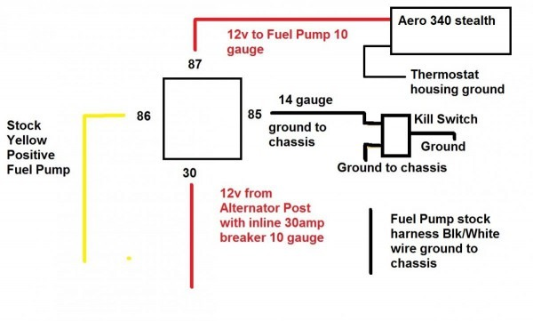 Fuel Sending Unit Blk White Wire Fried! Need Help Asap  )