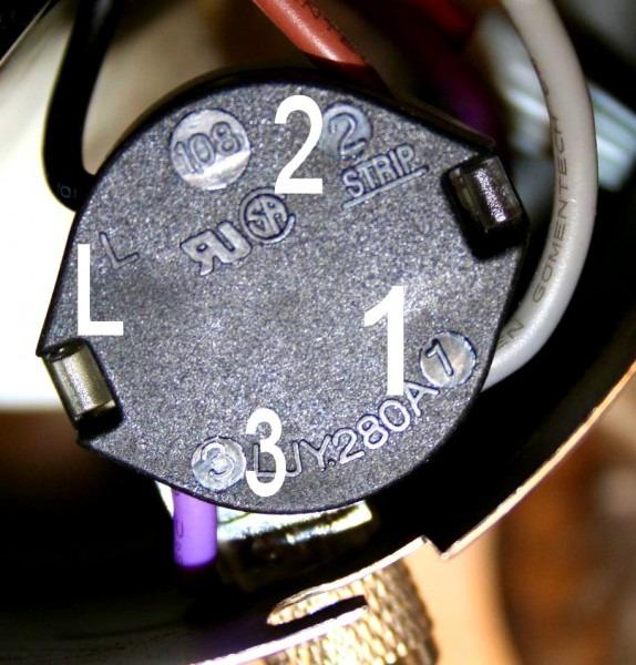 4 Wire Fan Switch Wiring
