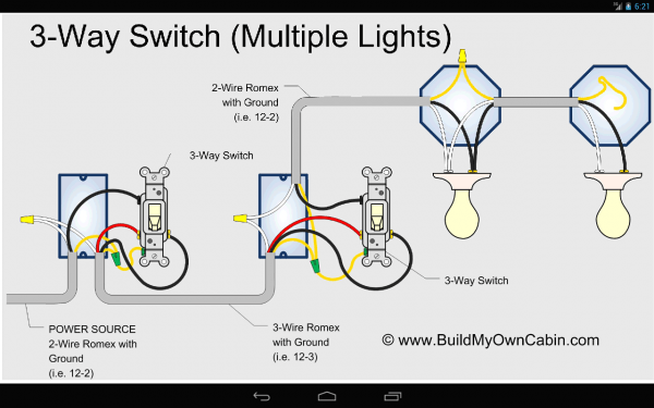 3 Way Light Switch Video