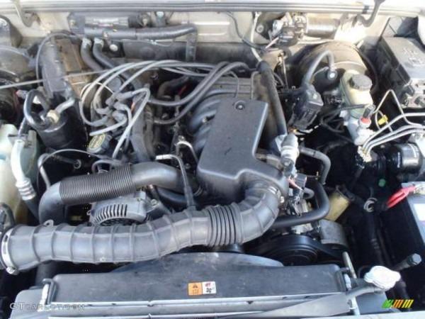 2003 Ford Ranger Xlt Supercab 3 0 Liter Ohv 12v Vulcan V6 Engine