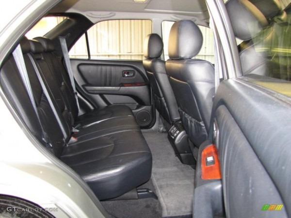 Black Interior 2002 Lexus Rx 300 Photo  41803635