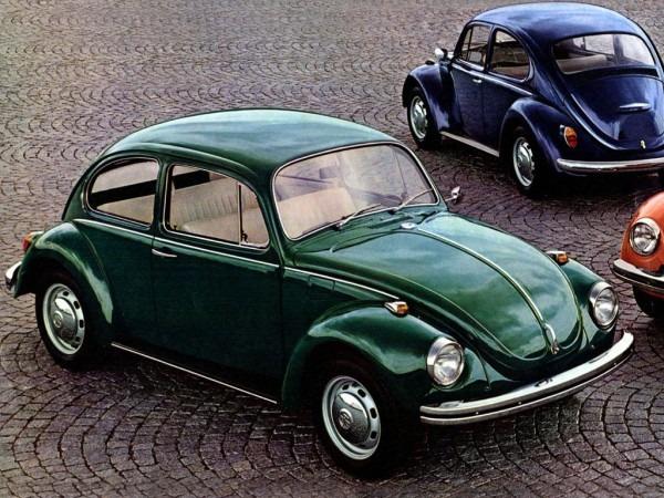 1971' Vw Beetle 1302 Press Photo