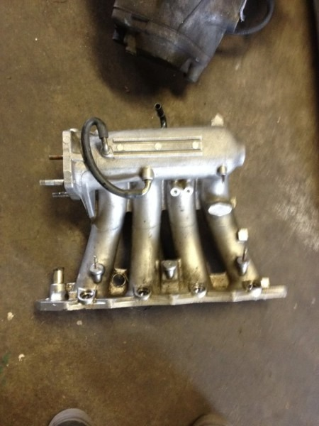 How To  B16 Intake Manifold On A B20 W  Pics!!!