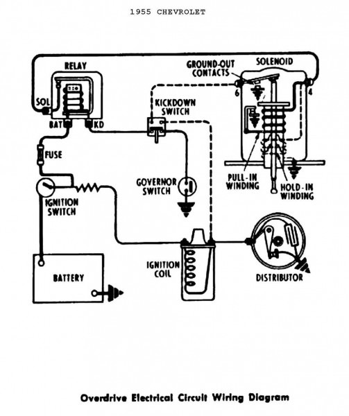 Positive Ground Distributor Diagram