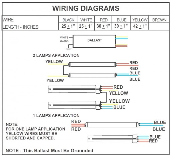 4 Lamp T5 Wiring Diagram