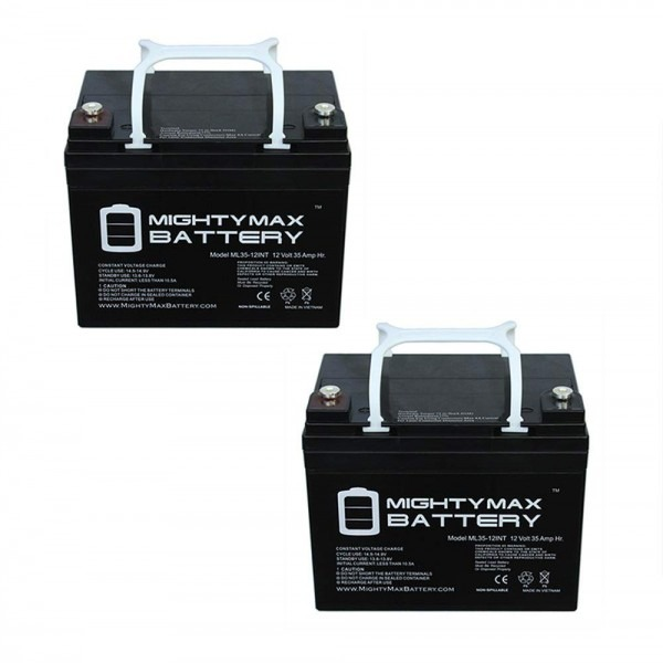 Amazon Com  Mighty Max Battery 12v 35ah Int Battery Replaces Pride