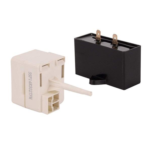Amazon Com  W10613606 Refrigerator Compressor Start For Whirlpool