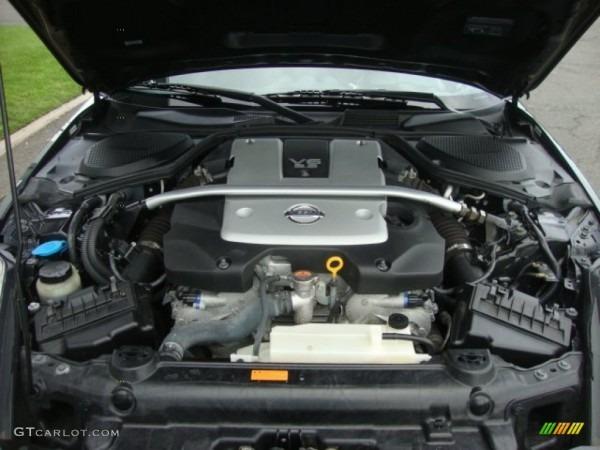 2008 Nissan 350z Coupe 3 5 Liter Dohc 24