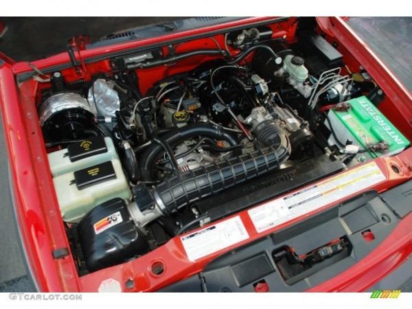 1998 Ford Explorer Sport Engine Photos