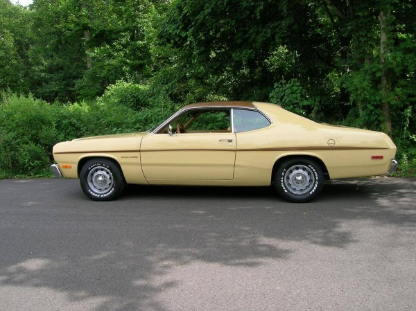 Hemmings Find Of The Day  U00e2 1973 Plymouth Gold Duster  U2013 Car