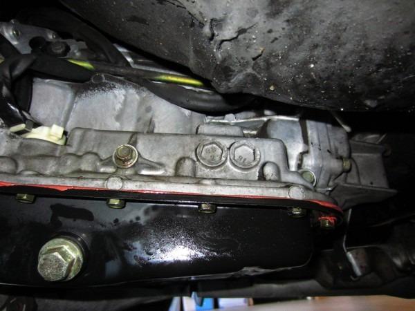 03 Outback Transmission Leak