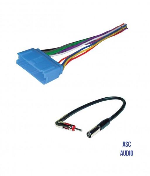 Amazon Com  Asc Audio Car Stereo Radio Wire Harness And Antenna