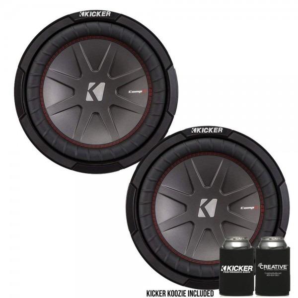 Amazon Com  Kicker 43cwr102 10  Dual Voice Coil 2 Ohm Comp R