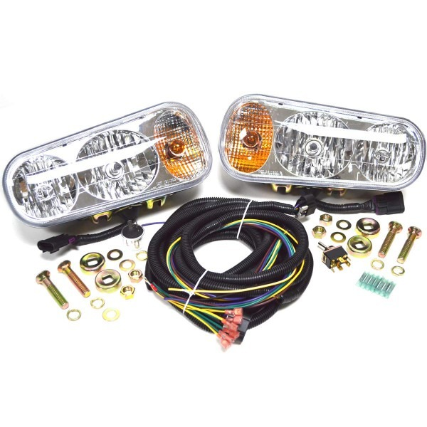 Amazon Com   Universal Halogen Snow Plow Lights Kit Fits Boss