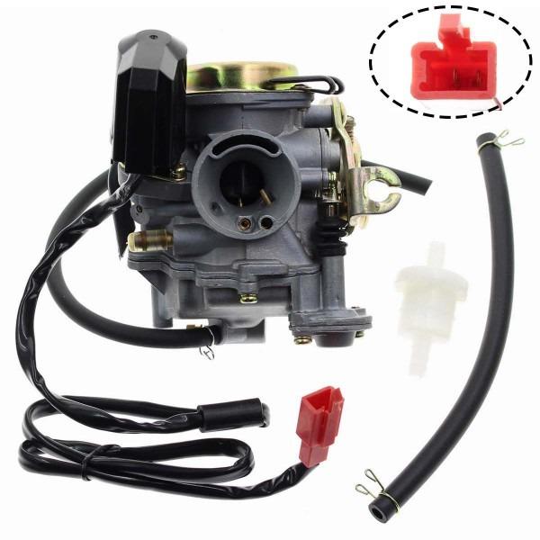 Amazon Com  Carbhub Gy6 50cc Carburetor For Gy6 49cc 50cc Four