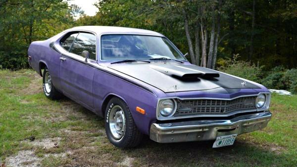 Plum Crazy Original  1973 Dodge Dart Sport 340