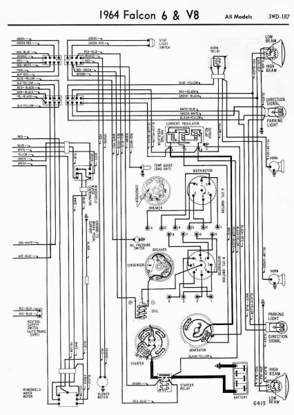 1964 Ford Falcon Wiring