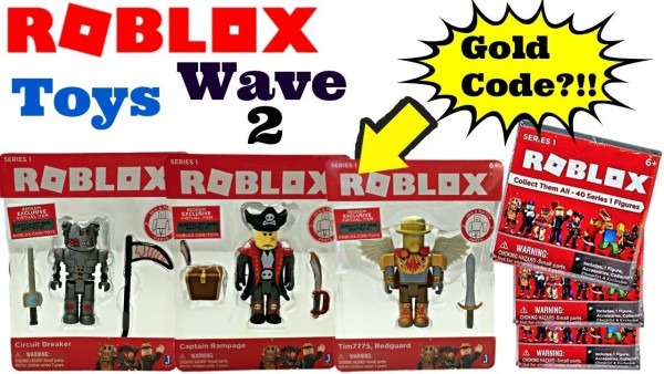 Roblox Toys Series 1, Wave 2, Circuit Breaker, Capt Rampage