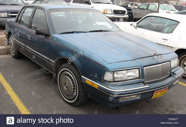 86 91 Buick Skylark Stock Photo  78206348