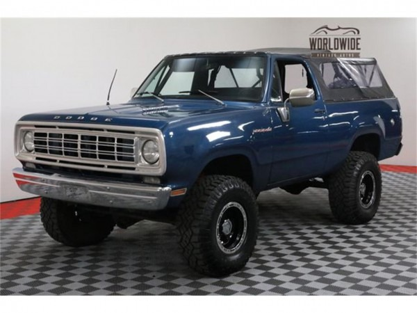 1976 Dodge Ramcharger For Sale