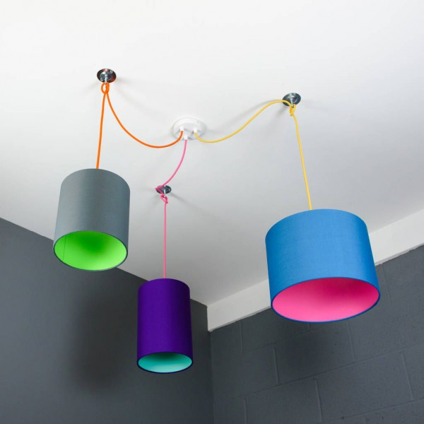 Are You Interested In Our 3 Way Ceiling Rose Kit With Lampshade