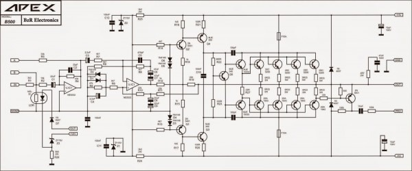 Computer Service And Electronic Engineering  Schematic Circuit Of