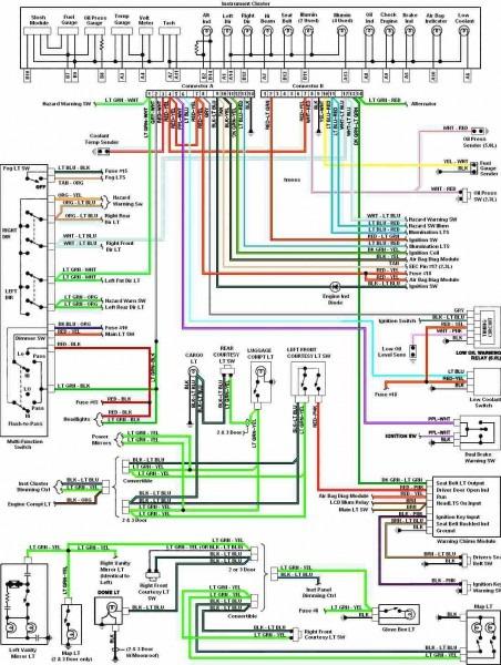 2001 Ford Mustang Wiring Diagram
