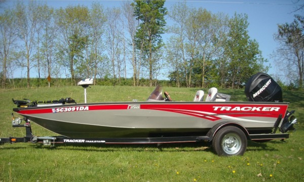 Bass Tracker V18 All Fish 2008 For Sale For $11,000